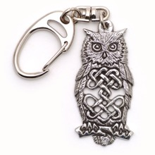 Celtic Owl Keyring
