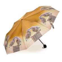 Kissing Owls Mini Umbrella