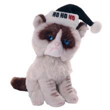 Grumpy Cat Holiday Beanbag