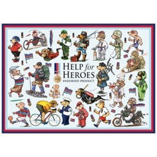 Help for Heroes 1000-piece Jigsaw