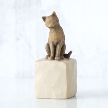 I Love My Cat Figurine