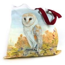 Autumn Barn Owl Tote