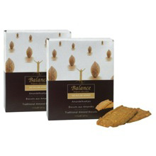 No Added Sugar Almond Biscuits Twinpack
