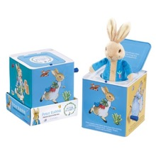 Peter Rabbit Musical Jack-in-the-Box