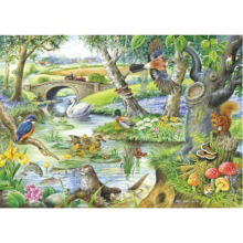 Tales Of The River 500 XL-piece Jigsaw