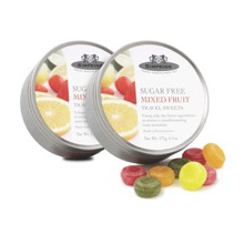 No Added Sugar Mixed Fruit Travel Sweets Twin Pack