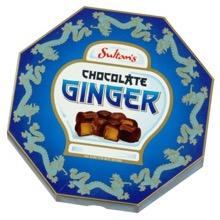 Dark Chocolate Coated Ginger
