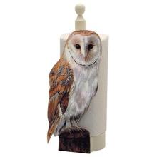 Barn Owl Kitchen Roll Holder