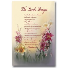 The Lord's Prayer Tea Towel