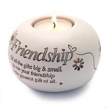 Friendship Sentiment Candle