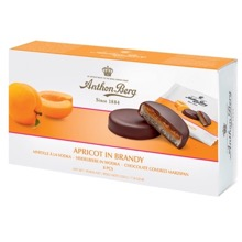 Apricot In Brandy Marzipan Discs