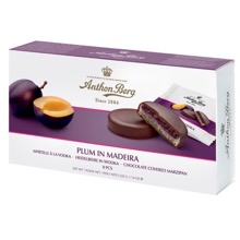 Plum and Madeira Marzipan Discs