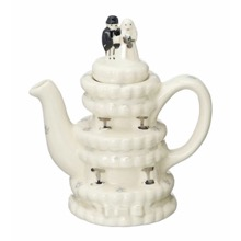 Wedding Cake One-Cup Teapot