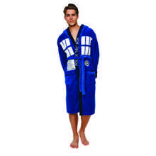 Doctor Who Tardis Bath Robe