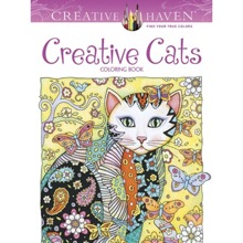 Creative Cats Colouring Book