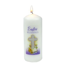 Easter Blessings Candle