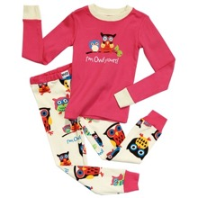 2884a5da6a I m Owl Yours Kids Long Sleeve Pyjama Set