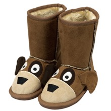 953275616835 Kids Unisex Fox Toasty Toez Slippers Kids