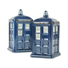 Tardis Salt and Pepper Pots