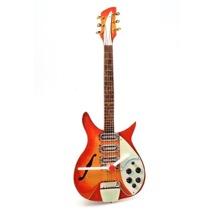 Rickenbacker Guitar Clock