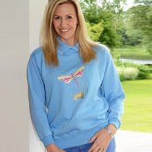 Dragonfly Design Jersey Top