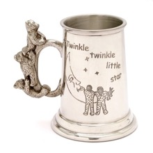 English Pewter Christening Gift