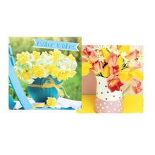 Easter Tulips & Daffodils Cards