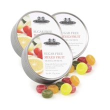 No Added Sugar Mixed Fruit Travel Sweets Triple pack