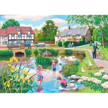 Duck Pond 250 XL-piece Jigsaw