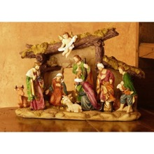 Traditional Nativity Centrepiece
