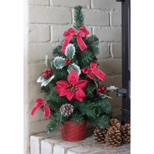 Poinsettia Table Tree