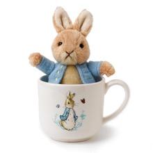 Peter Rabbit Mug & Toy Gift Set