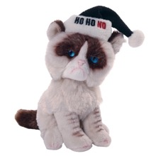 Grumpy Cat Holiday Beanbag