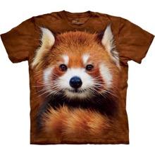 Red Faced Panda T-shirt