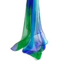 Waterfall Gossamer Silk Scarf in Gift Box