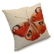 Peacock Butterfly Scatter Cushion