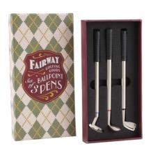 Set of Three Golf Pens