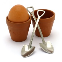 Flower Pot & Shovel Egg Cups