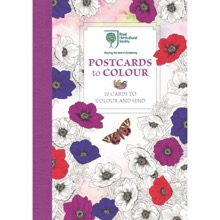 RHS Postcards to Colour: 20 Cards to Colour and Send