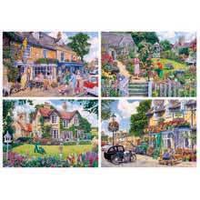 The Gardener's Round 4 x 500 Piece