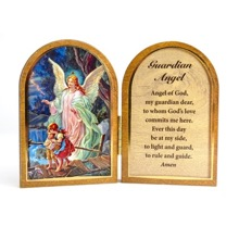Guardian Angel Miniature Diptych