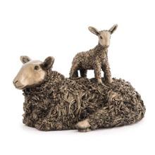 Ewe with Lamb Figurine