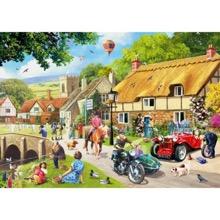 Village Life 1000 Piece Jigsaw