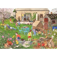 Egg Hunt 500  Piece Jigsaw