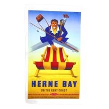 Herne Bay Tea Towel