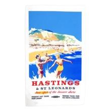 Hastings Cotton Tea Towel
