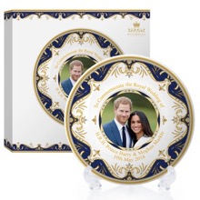 Royal Wedding Plate With Stand