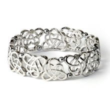 Celtic Knot Hematite Bracelet