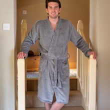 Lazy Days Men's Robe Set