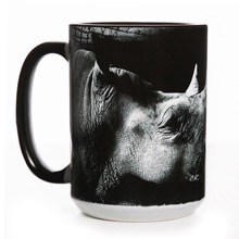 Be My Voice Rhino Mug